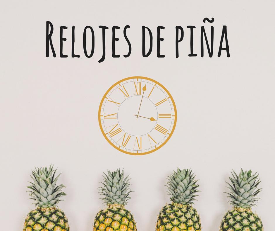reloj de piña