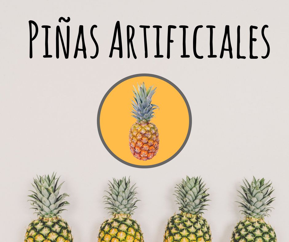 Piñas artificiales